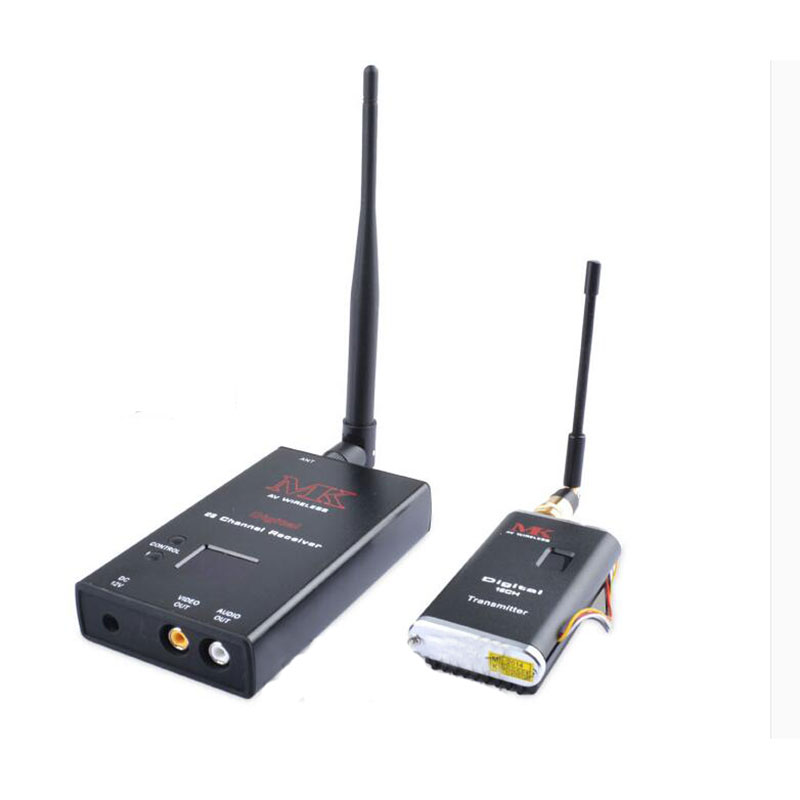 MK 1.2G 2W FPV TX RX 15CH Wireless Audio Video Transmission Combo for FPV Photography(China (Mainland))