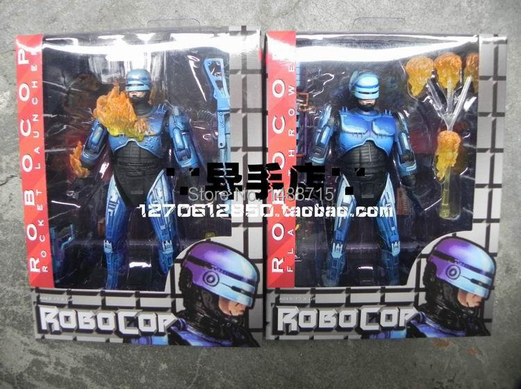 2pcs Hot NECA Robocop VS Terminator Series 2 Battle Damaged &amp; Flamethrower Sci-Fi Game 7 Action Figure Toys New Box<br><br>Aliexpress