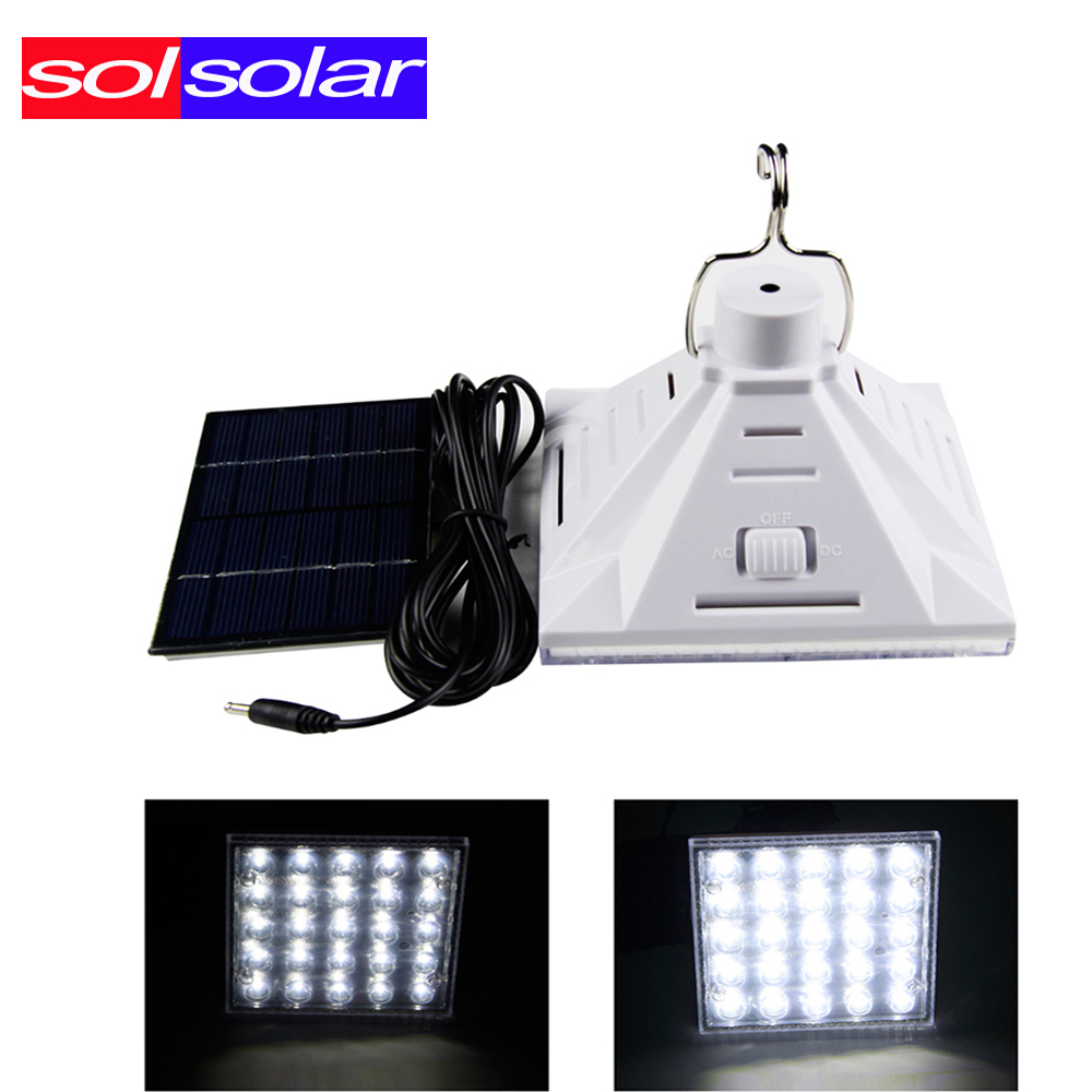 SOLSOLAR 2016 New 25pcs 3528 Portable Solar Powered Led Lighting System, Work Time 7 Hours Solar Rechargeable Energy Bulb(China (Mainland))
