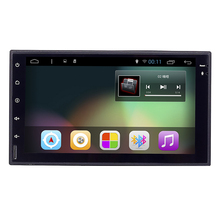 "7"" 2Din Universal Android 6.0 Quad Core 1024*600 Car PC Tablet GPS Navigation Radio Video Audio Player Wifi Car Headunit(No DVD)(China (Mainland))"