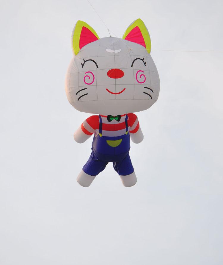 3D large kite pendant / 5 m software kitty / silica gel umbrella cloth(China (Mainland))