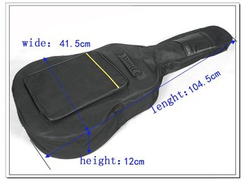 """Free shipping 41"""" inch Acoustic Guitar Gig thicken Bag Case with Dual Padded Strap Wholesale+Retail"""