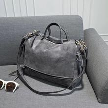 2016 New Fashion Women Handbags Suede Bags High Quality Leather Meule sable Daim Muticolor Optional Elegant Women Shoulder Bags(China (Mainland))