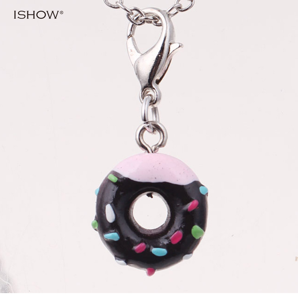 Popular donut keychain buy cheap donut keychain lots from for Porte a porte clothing