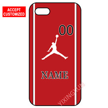 Jordan Jersey Custom Your Name Number Case for LG G2 G3 G4 G5 G6 iPhone 4 4S 5 5S SE 5C 6 6S 7 Plus iPod 5 Sony Z2 Z3 Z4 Z5(China (Mainland))