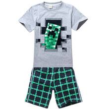 New fashion brand children sport suit clothing sets  SUMMER  kids boys clothes sets Boys t shirt + kids short pants(China (Mainland))