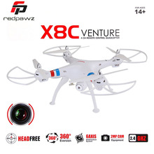 SYMA X8C RC Drone Quadcopter with 2 Megapixels HD Camera GoPro Camera applicable Big Quadcopter Hobby