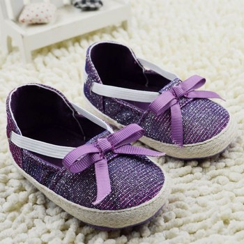 1506-BB41 Baby Girl Sandal Navy Pink Red Purple Brown Bling Bow Elastic Baby Shoes First Walkers Sandals Summer