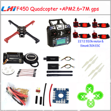 Buy F450 Quadcopter Rack Kit Frame APM2.6 7M GPS 2212 920KV simonk 30A 9443 props for $132.81 in AliExpress store