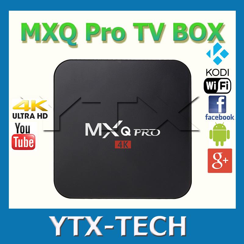 newest mxq pro amlogic s905 quad core android 5 1 tv box. Black Bedroom Furniture Sets. Home Design Ideas