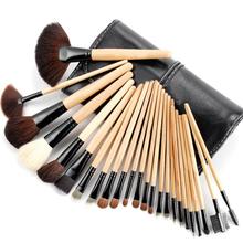 Good Quality Professional 24 PCS Cosmetic Facial Make Up Brush Kit Wool Makeup Brushes Tools Set