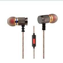 Original KZ EDR1 In-Ear Metal HD HiFi Earphone High Sensitivity 3.5mm Earbuds for cellphone Tablet PC MP3 Player