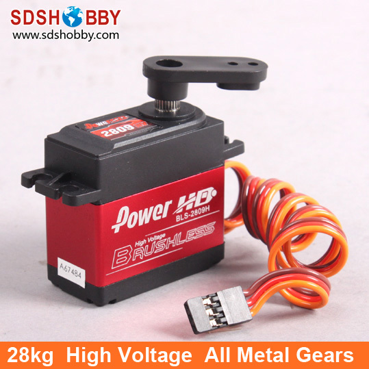 Power HD 28kg 7.4V Brushless Digital Servo BLS-2809HV with Metal Gears and Double Bearings<br><br>Aliexpress