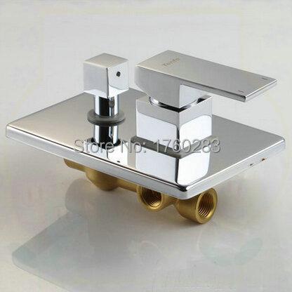 2 function with diverter 4 way shower panel valve bathroom