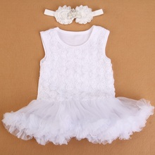 newborn baby girl dresses 2015 baptism;christening baby dresses for girls party;new born infant baby girl clothes set #3T0117(China (Mainland))