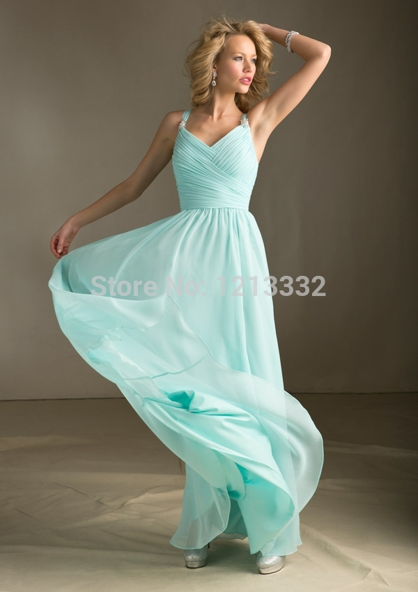 Long beach bridesmaid dresses
