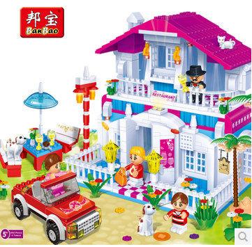 Детское лего Banbao 6103 580 , DIY детское лего gudi