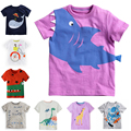 2016 Brand New European Style Baby Boys Girls T Shirt Summer Cute Cotton Cartoon T Shirt