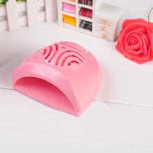 New Arrival Pink Mini Portable Nail Polish Dryer Finger Toe Nail Dryers AA Batteries Operate Nail Art Dryers Blower Fan