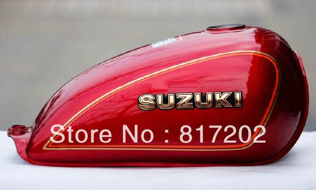 NEW OEM QUALITY SUZUKI GN250 FUEL ( PETROL GAS ) TANK, RED