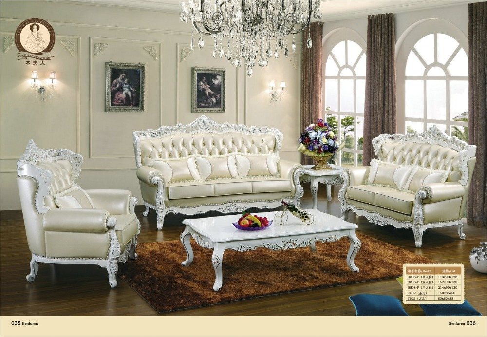 2016 armchair chaise sale european style antique no for Living room sofa sets on sale