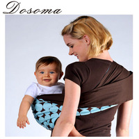 Mom Essential Fashion No Buckle Baby Sling Cotton Double Ergonomic Newborn Wrap Baby Carrier Sling Front Facing Parenting Towel