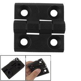 Metal Counterbore Type 4 Knuckle Ball Bearing Butt Hinge Black(China (Mainland))