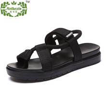 2016 Summer New Design Nylon Webbing Upper Womens Simple Casual Platform Sandals Lazy Ladies Slippers Size35-39 Free Shipping(China (Mainland))