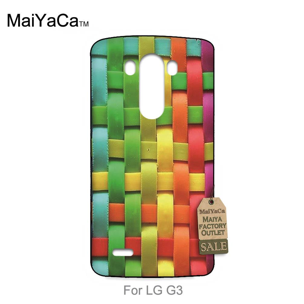 Hot Fashion Fun Dynamic phone case For case LG G3 Color mesh grid(China (Mainland))