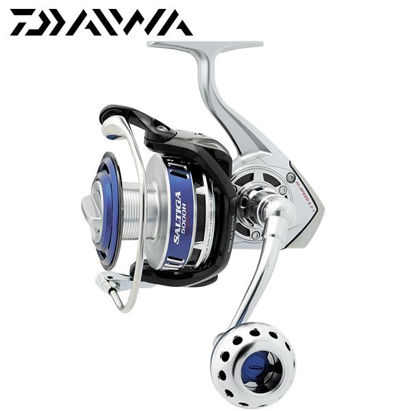 Daiwa brand saltiga satg4500h 5000h 15 bearings spinning for Best fishing reel brands