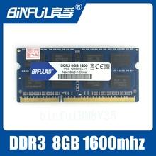 Абсолютно Герметичный DDR3 8 ГБ 1600 МГц 1.5 В SODIMM Памяти Ram memoria ram Для Ноутбука Ноутбук Пожизненная Гарантия(China (Mainland))