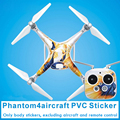 DJI phantom 4 Sticker PVC Decal Sticker fuselage waterproof scratch battery remote stickers accessories