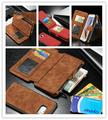 1pcs CaseMe Retro Wallet Case For s6 edge plus Luxury Book Style Phone Case For samsung