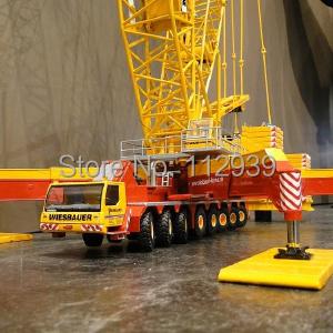 LIEBHERR LG1750 Lattice mast crane - Wiesbauer Alloy Car Model toys Engineering Model(China (Mainland))