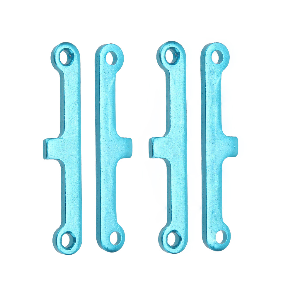 2 Set 02173 Brand New Upgrade Parts Blue Aluminum Suspension Arm Pad for HSP 1/10 Car Buggy ATV Truck Truggy Cars(China (Mainland))
