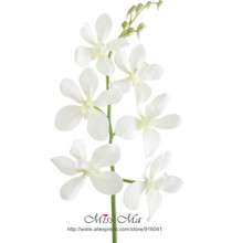 Bulk Order - White Phalaenopsis Orchid Silk Flower Orchid Artificial Flower Wedding Flower Event Party (China (Mainland))