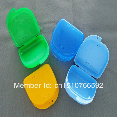 Free Shipping Hot sale Wisdom Denture Storage Box Protective Dental Case For False Teeth Y1379 qrxNL(China (Mainland))