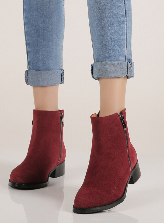 womens black suede boots low heel | Gommap Blog