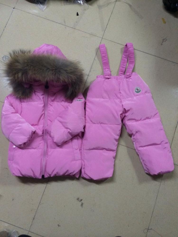 Fashion childrens clothing down coat male set detachable raccoon fur<br><br>Aliexpress