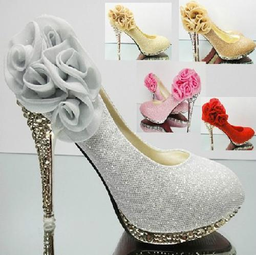Online Get Cheap Diamond Silver Heels -Aliexpress.com | Alibaba Group