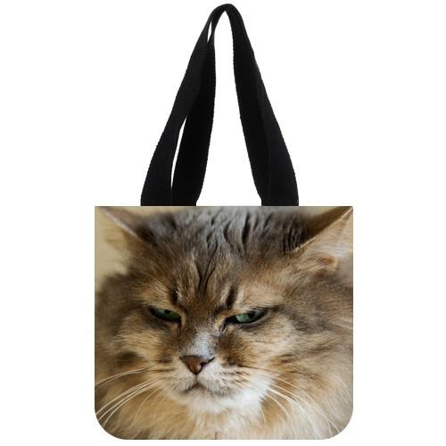 funny Grumpy cat Shopping bag,Shopper handbag large capacity shoulder diagonal women Mommy bags Mochila Infantil Menino(China (Mainland))