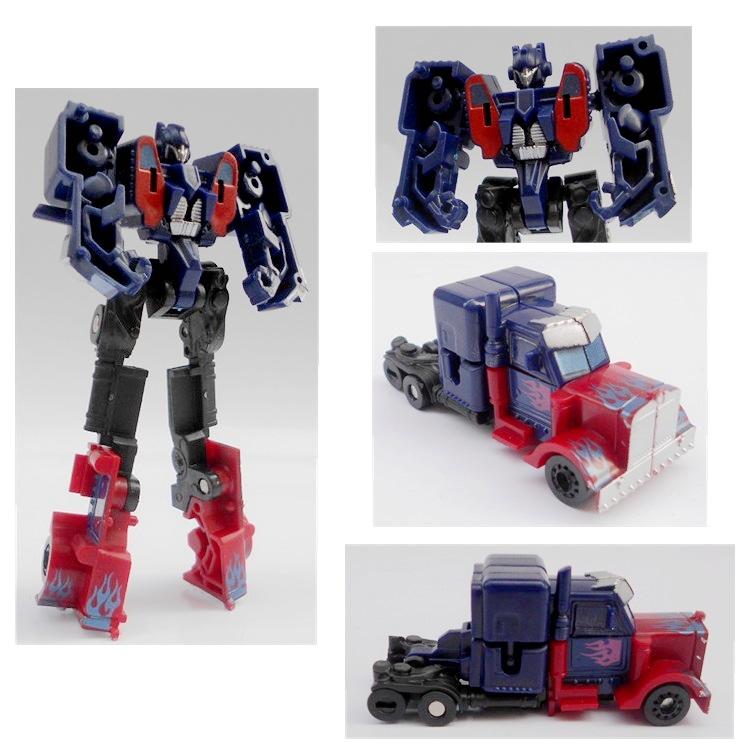 Transformation Autobot Robot Vehicle Optimus Prime Boys Kids Action Figures Minifigure Toy Gift