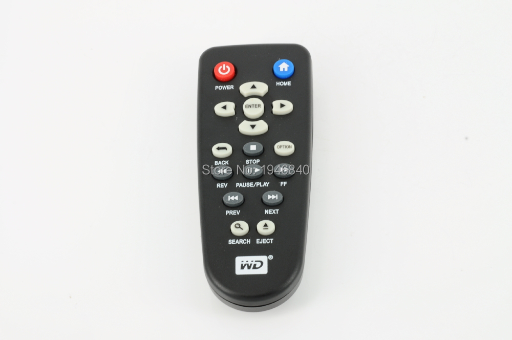 Universal Replacement Remote Control Fit ForWestern Digital WD WD TV Live WDTV Media Player(China (Mainland))