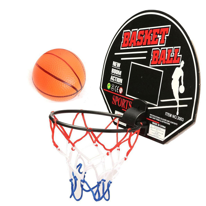 Hot Sale Mini Basketball Backboard Hoop Net Set with Basket Ball Indoor Sports Play Game For Child Kids Favor Gifts(China (Mainland))