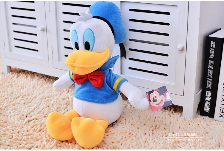 cute duck plush toy lovely cartoon donald duck doll birthday gift about 40cm(China (Mainland))