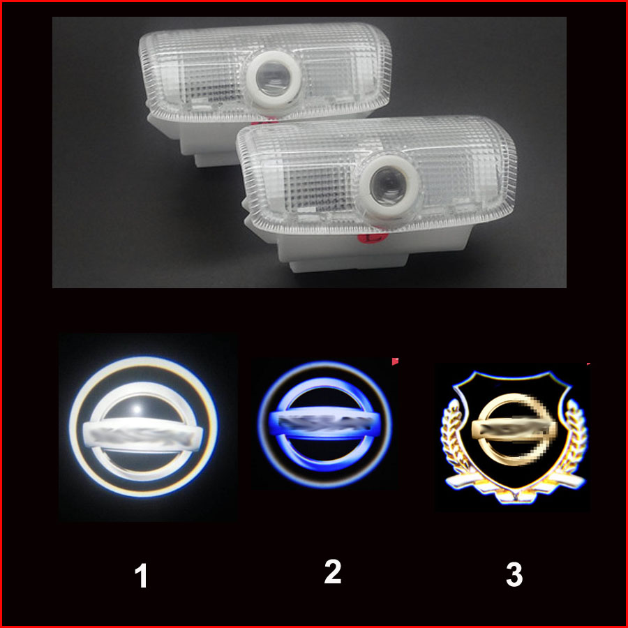 new arrial n1ss@n patrol teana Led Car Door Logo Lights, Car Door Projector Light, Ghost Shadow Welcome Light<br><br>Aliexpress