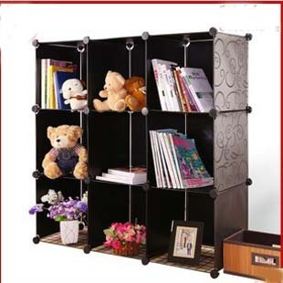 Bookcase cabinet storage plaid cabinet simple child bookshelf shugui(China (Mainland))