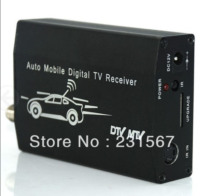 Promotion ISDB-T5009 Car ISDB-T receiver, One seg auto mobile tv tuner, set top box, 1 STB MPEG2 MPEG4 Free shipping(China (Mainland))