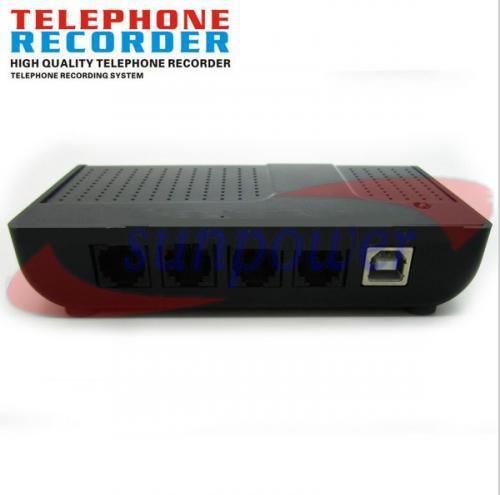 2014 new1pc M101 Telephone recorder USB telephone recording box high quality telephone recording computer telephone recording(China (Mainland))
