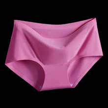 Buy Top Women's panties 17 Colors ice silk Cool refreshing seamless underwear triangle big yards female briefs for $1.40 in AliExpress store